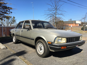 Peugeot 505 S For Sale
