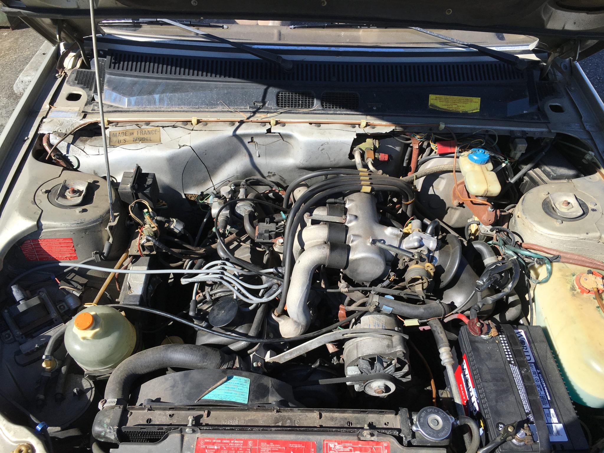 Peugeot 505 S Engine