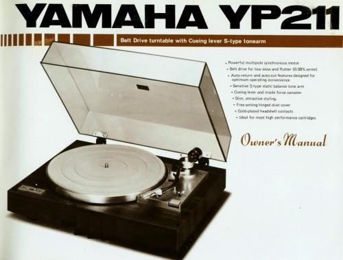 Yamaha YP-211 Turntable
